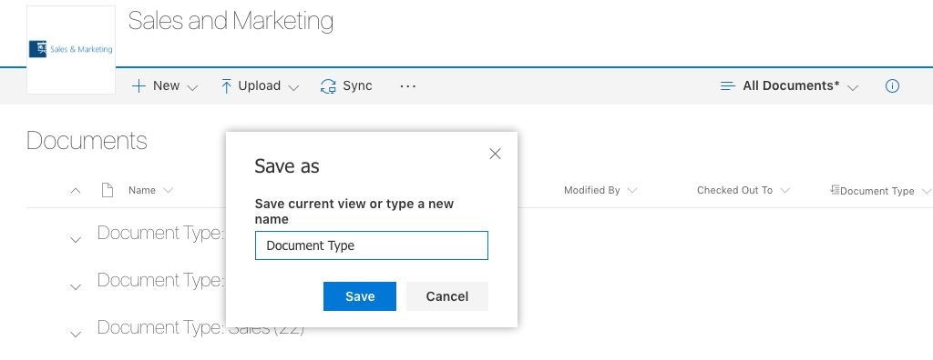 Creating Views in the new SharePoint Document Library experience