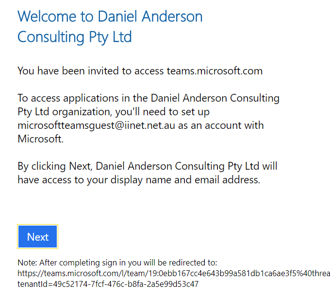 Microsoft Teams Guest Access - the process unveiled - Daniel
