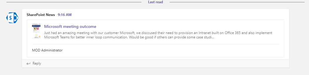 Better Team Communication with Microsoft Teams and Modern SharePoint